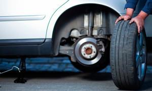 замена колес на renault