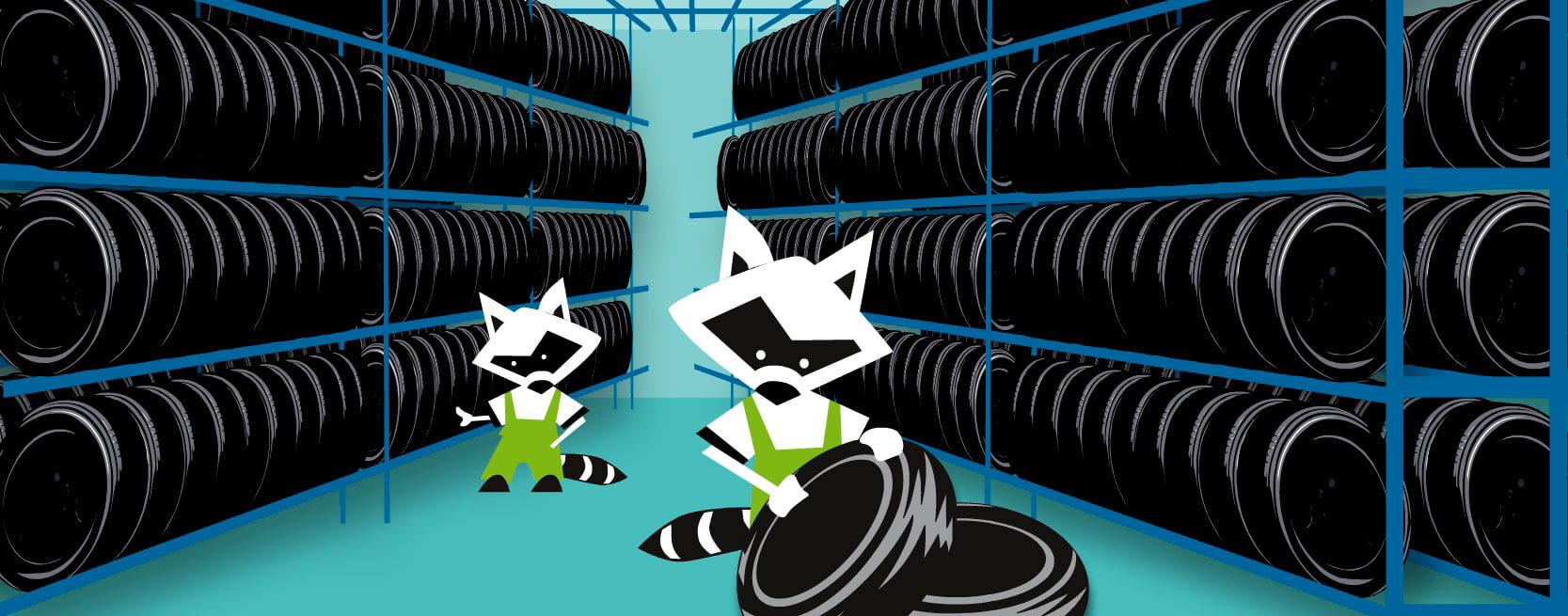 Хранение шин в СПБ